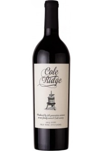 Cole Ridge Old Wine Zinfandel