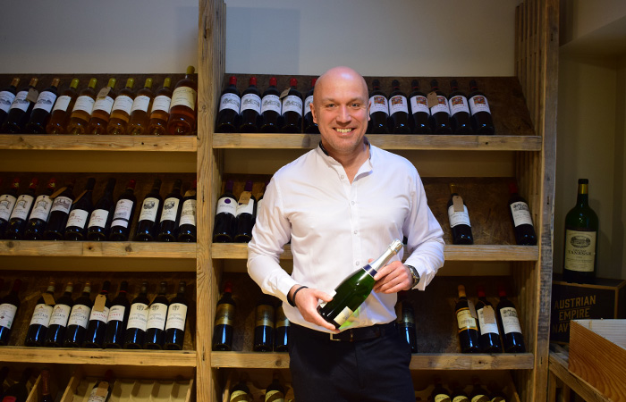 Peter Rasmussen, ejer af Gourmet Wine